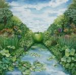 Echo Garden - 24x24
