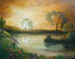 Portal of the Dawn - 24 x 30